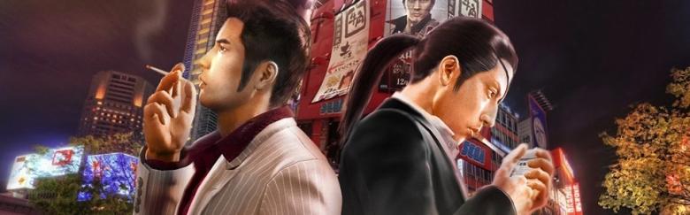 Kiryu Kazuma (Right), Majima Goro (Left)
