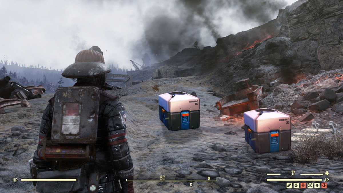 Possible loot boxes found in recent Fallout 76 patch